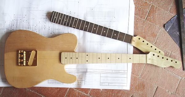 Designing And Building A Mini Telecaster Guitar Building Telecaster Telecaster Guitar