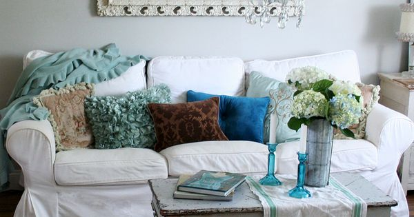 Ikea Sofa Shabby And Living Rooms On Pinterest