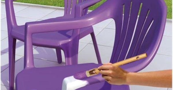 Je rénove mon mobilier de jardin au lieu de le changer ...