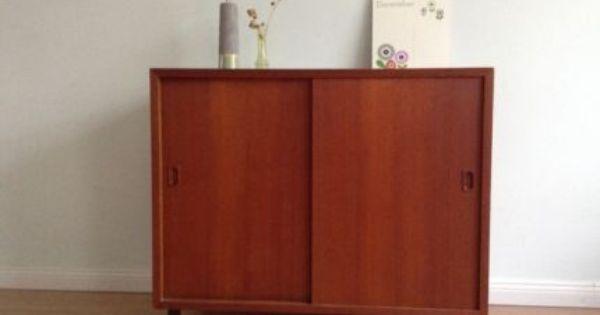 Teak Kommode Schrank Sideboard 60er Jahre Retro In Wandsbek
