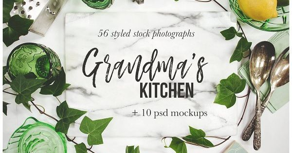 Grandma's Kitchen Photography Bundle