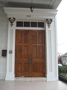 Transom Window Above The Front Door Wooden Door Design Double