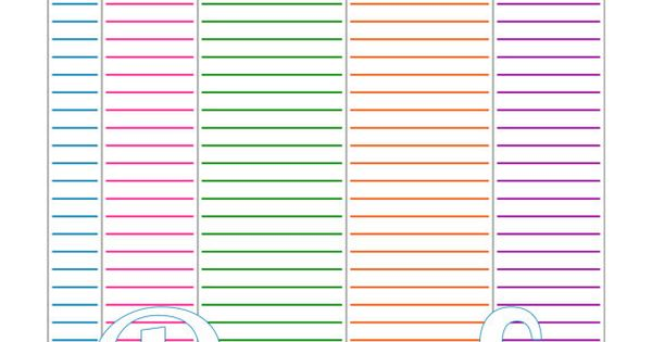 Supply Inventory Printable Planner Pages Pinterest