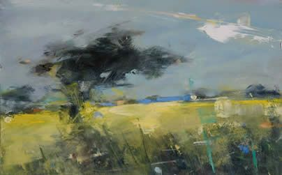 Study For Spring Abstract Art Landscape Abstract Landscape Painting Landscape Art