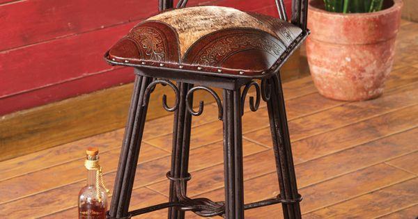 Coronado barstool from lone star western decor stylish for Lone star home decor