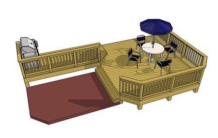 Details Free Deck Plans Deck Plans L Shaped Deck Ideas