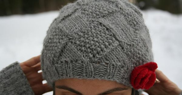 Entrelac Knitting Pattern Books : Entrelac Hat pattern on Craftsy KNITTING Pinterest E ...