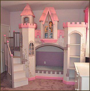 Castle Bed Play Kid Beds Kids Bunk Beds Princess Bunk Beds