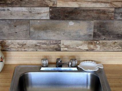 do it yourself backsplash for kitchen diy backsplash ideas for kitchens pallet wood do it 26634