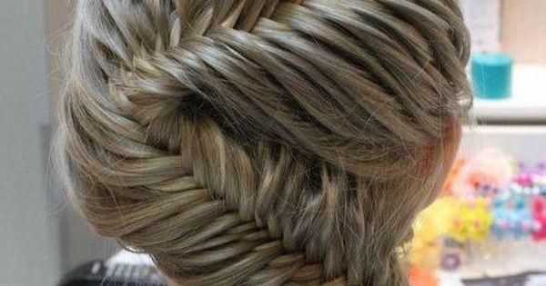 French fishtail braid braid braids long hair