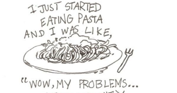 The Truth! | Eating Pasta Makes Problems Go Away | @TheMetaPicture