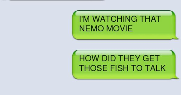 Social Networking: Superhero and Mutant Style. Captain America watching Finding Nemo while