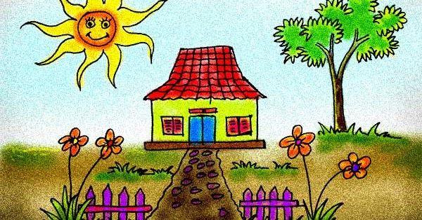 Terbaru 28 Gambar Rumah Anak Tk Gambar Mewarnai Rumah Sederhana Contoh Gambar Mewarnai Menggambar Rumah Mudah Untuk Anak Tk Gambar Gambar Keren Langit Biru
