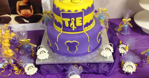 Lakers Baby Shower | Cakes | Pinterest