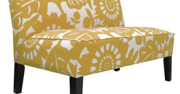A living room bench - Gerber Loveseat by Target - another cool