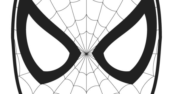 Spiderman Logo Coloring Pages | Halloween | Pinterest ...