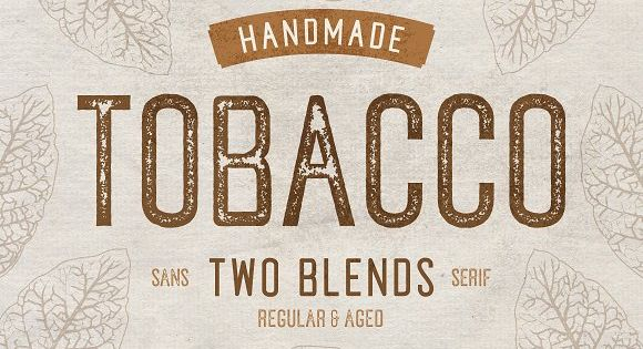 Tobacco Typeface – Tobacco, A Handmade Sans Serif in Two Styles