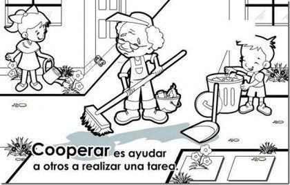 Imagenes De Solidaridad Para Colorear Cooperar 420x268 Educar En