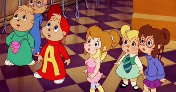 The Chipmunks And The Chippettes Alvinnn And The Chipmunks