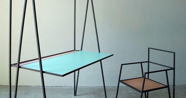Alpina Collection Par Ries Art Minimaliste Table Bureau Et Mobilier