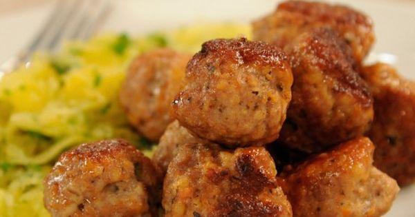 Jessica alba, Turkey meatballs and Weekly meals on Pinterest