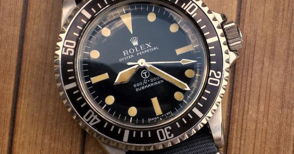 The Holy Grail of watches: rare Rolex Milsub, incredibly expensive if you