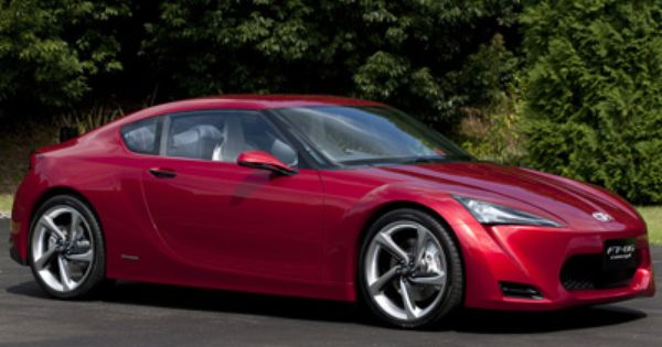 Toyota Ft 86 Concept Cars