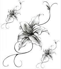 Resultat De Recherche D Images Pour Dessin D Orchidee Tribal Tatuagem De Flor Desenhos De Tatuagem De Sereia Tatuagens Temporarias