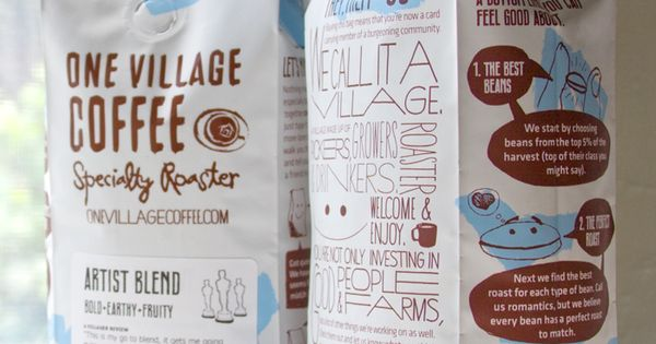 PackagingBlog / Best Packaging Designs Around The World: One Village Coffee Bag