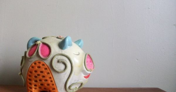 Chalkware piggy bank it 39 s a mod mod world pinterest piggy bank piggy banks and banks - Coink piggy bank ...