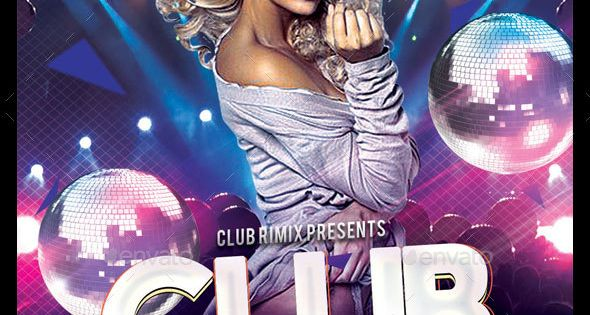 Bundle of 5 Club Flyer – Clubs & Parties Events