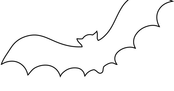 Bat Outline Coloring Page Free Printable Coloring Pages Bat Outline Bat Printable Line Drawing