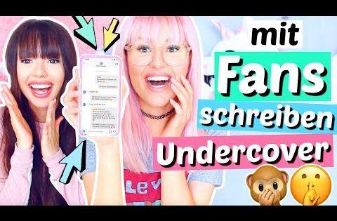 Undercover Mit Fans Auf Instagram Schreiben Fake Accounts Viktoriasarina Youtube Shirt Schnittmuster Victoria Und Sarina Instagram