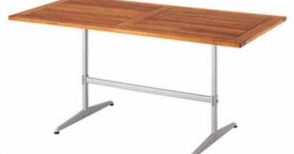 Gastro Tisch De Luxe Teak 120x80 Cm Teak Gartenmobel Teak Holz