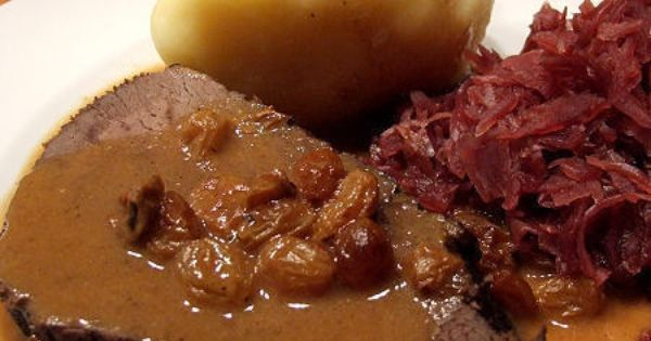 Sauerbraten (German Pot Roast) | Recipe | Pot Roast, Roasts and Pots