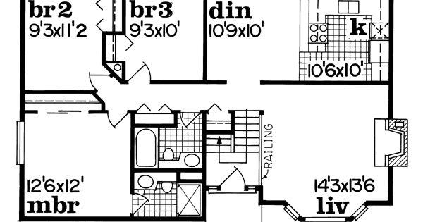 1150 Sq Ft House Plans Pinterest House Plans Houses