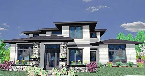 Plan 85014ms prairie style house plan prairie house for Modern style homes