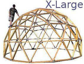 Dome Connectors 2x4 Geodesic Dome Connector Kits Geodesic Dome Geodesic Dome Homes Geodesic