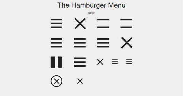 21 Cool Css Hamburger Menu Animations Bashooka Hamburger Menu Menu Css Hamburger Menu Icon