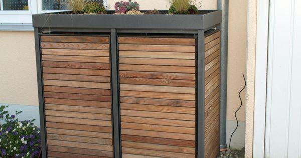 box f r m lltonnen projekt haus pinterest pumpe aufbewahrungsboxen und selber machen. Black Bedroom Furniture Sets. Home Design Ideas