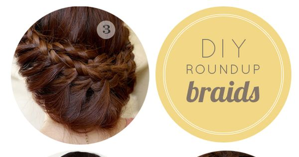 For my recent fetish with braids | Create these stylish up-do's yourself
