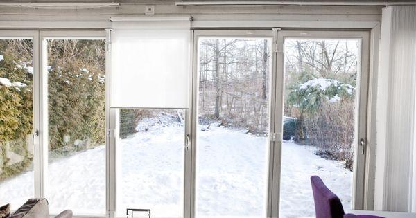 Vikfönster från Ekstrands på radhus #Ekstrands #Fönster ...