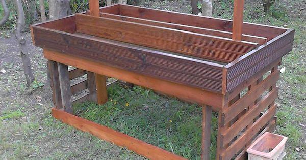 Mon petit potager en hauteur idees jardin pinterest - Mon carre potager com ...