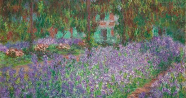 claude monet le jardin de l 39 artiste giverny en 1900 impressionism pinterest monet and. Black Bedroom Furniture Sets. Home Design Ideas