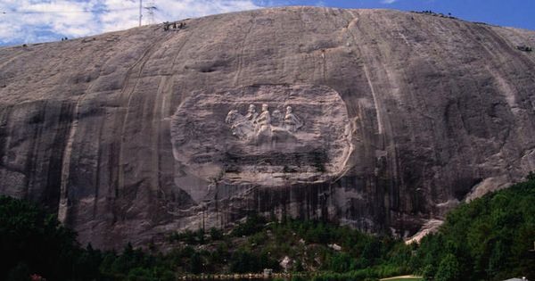 Rock Carving At Stone Mountain