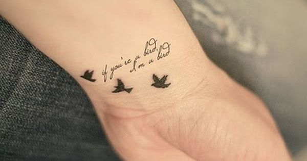 #wristtattoo birds