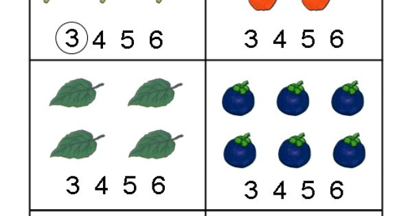 Worksheets, Math And Numbers