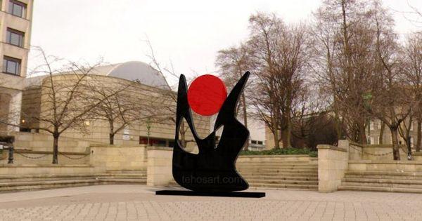 Sculpture 2011 par tehos sculpture tableau sculpture - Tableau contemporain abstrait design ...