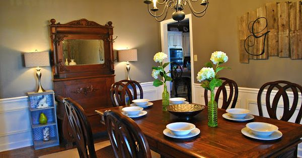Favorite Paint Colors: Dining Room Earthy Gray- Better