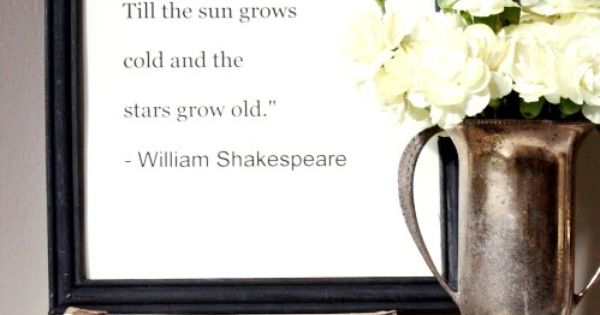 Shakespeare Quotes for my beautiful wife